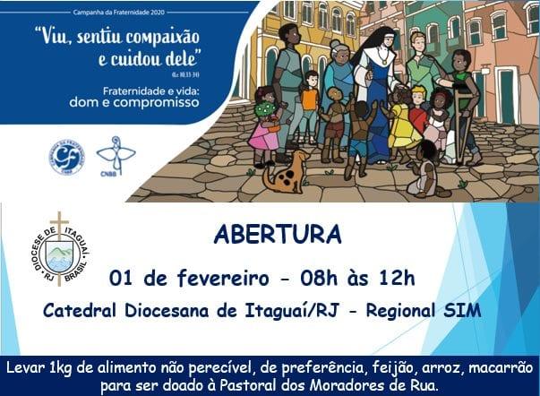 Abertura da Campanha da Fraternidade no Regional SIM